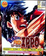Fighting Spirit: Season 1 2 3 (1 - 127End + Movie + OVA) ~ 8-DVD ~Hajime no Ippo