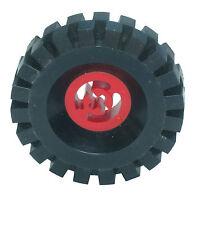 Falta Lego Ladrillos.3481 & 3634 Rojo Y Negro Rueda Centro grandes & neumático 17x43