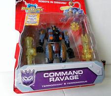 Transformers ENERGON Decepticon COMMAND RAVAGE TERRORCON Hasbro 100% CHERRY MOSC