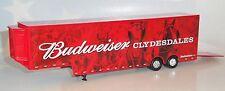 BUDWEISER CLYDESDALES TRANSPORTER TRAILER SPECCAST DIECAST 37040 1/64