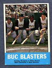 1963 Topps #18 Buc Blasters/Clemente  NM+