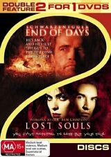 End Of Days  / Lost Souls (DVD, 2006, 2-Disc Set) Brand New Sealed Free Postage