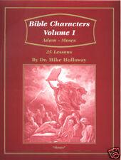 Sunday School Lesson - Bible Characters  Vol 1 KJV