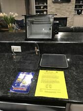 Ronco SHOWTIME ROTISSERIE Oven, Model 3000 Black  PRICED TO SELL 30 day Returns
