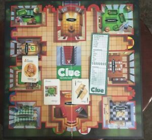 Clue Board Game replacement Cards Pad Clue gameboard 1996 Family board Game