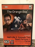Orange Box Half-Life 2 (PC, 2007) Complete / Nice / Free Shipping