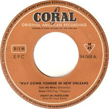 ♫ Jimmy Mc Partland & his Jazz Band - Way Down Yonder In New Orleans - Coral