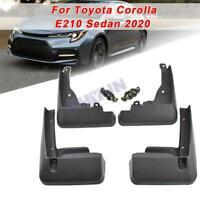 4pcs For 2020 Toyota Corolla E210 Sedan Splash Guards Mud Flaps Fender Protecotr
