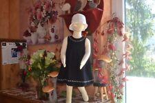 robe tartine et chocolat  2 ans  double 30% de laine