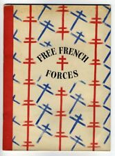 FREE FRENCH FORCES 1942 London World War 2 WW2 Occupuied France Military Navy
