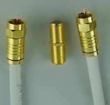 4m Satkabel Antennen-Koaxial Kabel 140dB Kupfer Feste Kompressionsstecker