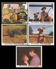 OLD YELLER orig DISNEY lobby cards TOMMY KIRK/FESS PARKER 11x14 movie posters