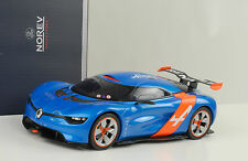 2012 renault alpine a110-50 Blue Bleu Orange 1:18 NOREV 185147