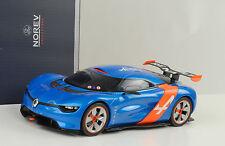 2012 Renault Alpine A110-50 blue blau orange 1:18 Norev 185147