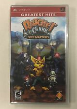 Ratchet And Clank: Size Matters (Sony PlayStation Portable, PSP) Greatest Hits