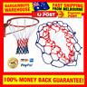 Universal 5mm Red White Blue Basketball Net Nylon Hoop Goal Rim Mesh