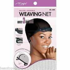 DELUXE INVISIBLE WEAVING NET - ADJUSTABLE BAND