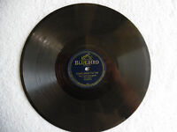 "78rpm 10"" Record Bluebird 0505 The Prisoner's Song Montana Slim Peaceful 198-3V"