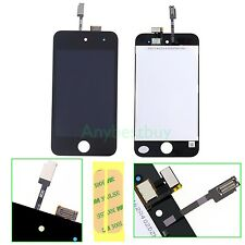 Black For iPod Touch 4 4th Gen 4G Outer Glass LCD Touch Screen Digitizer + Tools