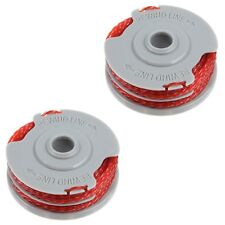 2 Premium Quality Double Autofeed Spool & Line For Flymo Strimmers & Trimmers
