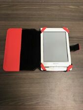 "Sony PRS-T1 White 6"" eBook Reader With Wi-Fi Tablet Very Good 5E"