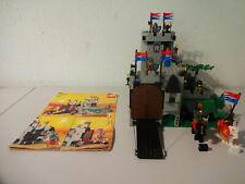 (GO) Lego 6081 King's Mountain Fortress Ritterburg MIT BA GEBRAUCHT 100% KOMPL.