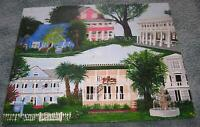 SOUTHERN PLANTATION HOUSE BED BREAKFAST INN RESTAURANT NAUTICAL GARDEN PAINTING