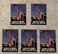 1993-94 UPPER DECK MICHAEL JORDAN SKYLIGHTS #466 LOT OF 5 CARDS, NM-MT