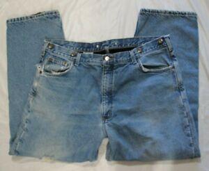 """Men's 42""""w x 30"""" ins. Carhartt FLEECE-LINED, WARM jeans - EUC!!!"""