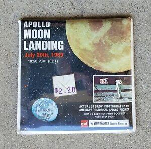 VINTAGE FACTORY SEALED 1969 APOLLO MOON LANDING VIEW-MASTER B 663 NASA