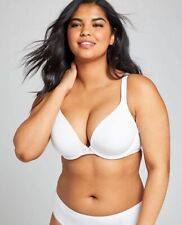 New Lane Bryant Cacique Cotton Boost Plunge Bra 38C