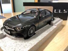 Mercedes Benz, new CLS W257, graphitgrau, Norev, 1:18 Modell