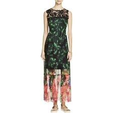 Elie Tahari 8767 Womens Corrine Multi Maxi Sleeveless Maxi Dress XL BHFO