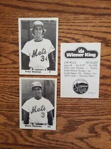 1976 Wausau Mets Team Set ( Wiener Kings)