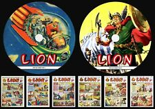 Lion UK Weekly Comics (1952-66) On Two DVD Rom's