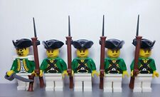 Lego PIRATES HESSIAN Infantry Soldiers MINIFIGS Musket NEW Green Version