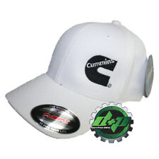 Dodge Cummins truckers mesh summer cummings hat white cap fitted flex wicking