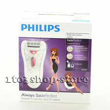 Philips HP6574/50 Cordless Hair Removal Satin Perfect Epilator (White/Pink) NEW
