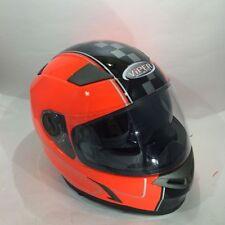 Caschi arancione moto per la guida di veicoli taglia XL