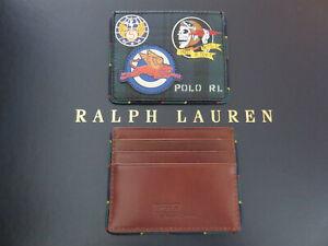 Polo RALPH LAUREN Tartan Black Watch Skull Card Case