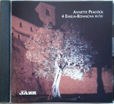 Annette Peacock – 4 Emilia-Romagna W/lv ITALY 2007 Musica Jazz  MJCD 1195 MINT