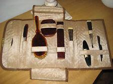 Vintage Manicure / Grooming Set, 11 Pcs & Case