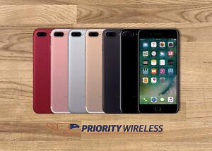 Apple iPhone 7 Plus A1661 32/128/256GB AT&T TMobile Verizon Unlocked GOOD
