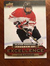 15-16 UD Hockey Series 2 #C262 Program Of Excellence Slater Koekkkoek