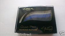 LOreal Quad Pro Blue Eyes 358 Midnight Blue Milla Jovovich Eye Shadow