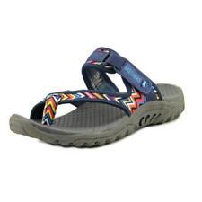 Sandali e scarpe blu tessile Skechers per il mare da donna