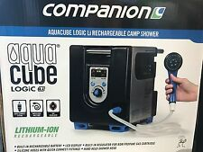 New Companion AquaCube Logic lithium ion rechargeable hot portable camp shower