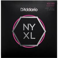 D'Addario NYXL 5-String Bass Guitar Strings regular gauge 45-130 long scale