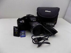 Nikon Coolpix P610 16.0 MP Digital Camera - Black