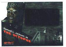 The Spirit Movie Inkworks Blank Autograph Card A.7 Samuel L. Jackson The Octopus